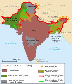 Partition de l'Inde