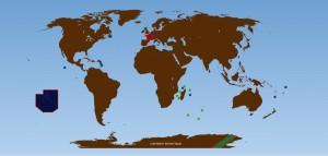 Carte de l'Outre-mer