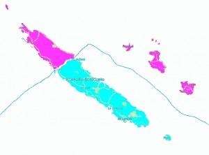 Partition de la Nouvelle Calédonie